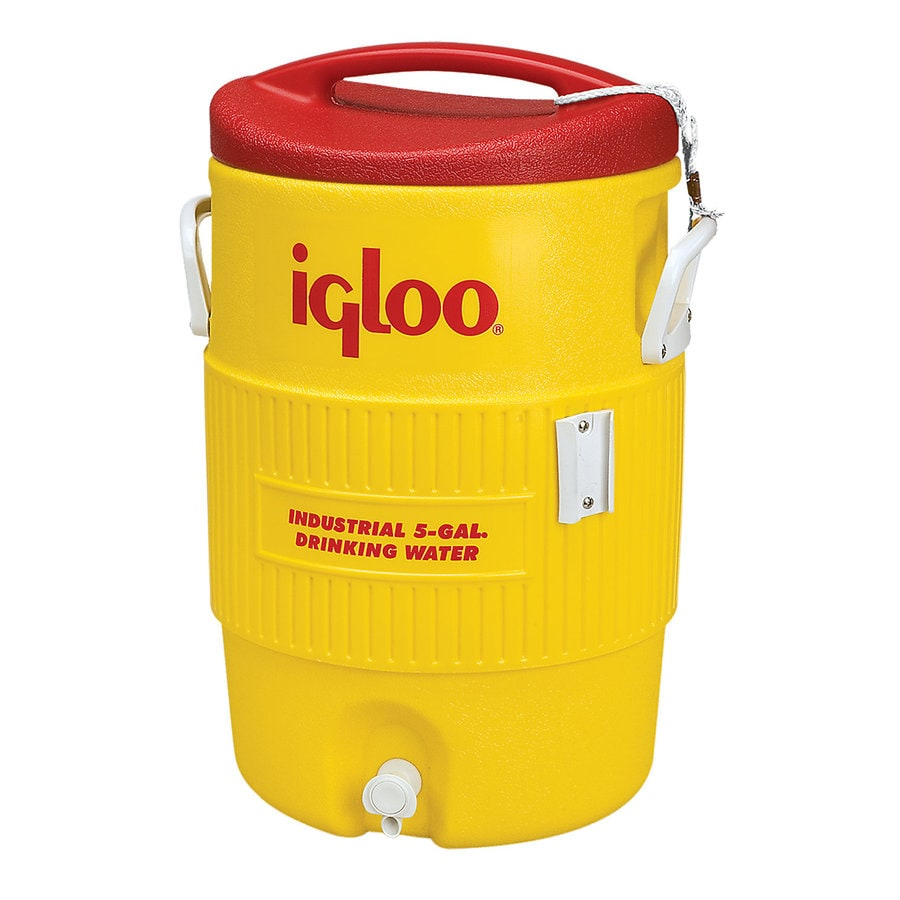 Igloo 5-Gallon Yellow Poly Beverage Dispenser