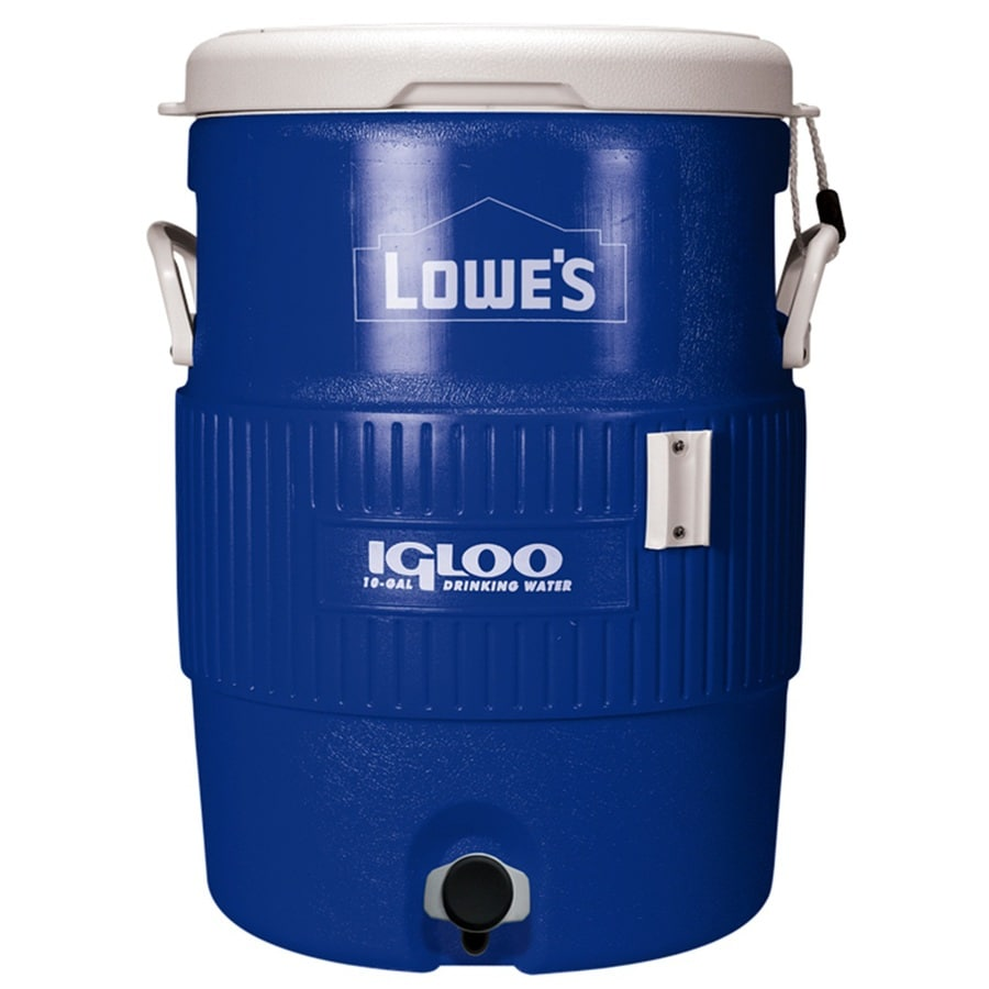 Igloo Blue Poly Beverage Dispenser