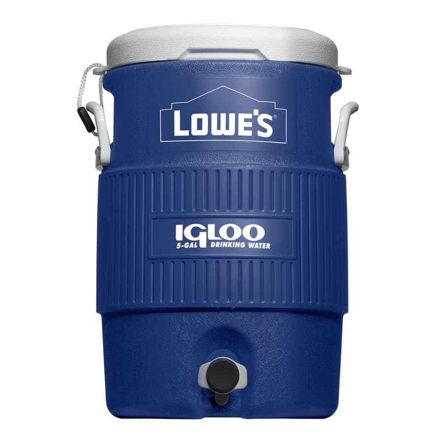Igloo 5-Gallon Blue Poly Beverage Dispenser