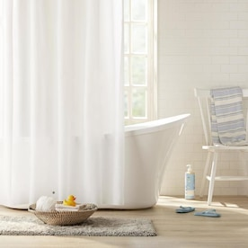 Clorox Clorox 4G 2pk PEVA Liner Frosty Plastic Bath Accessory Set