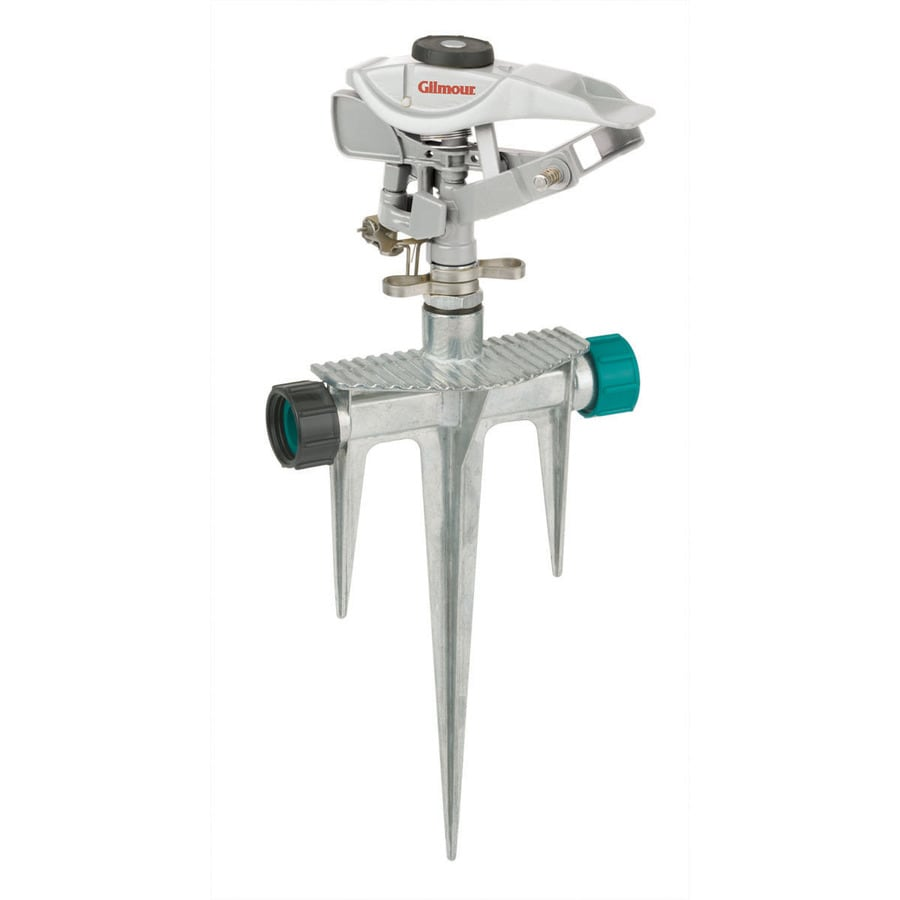 Gilmour 5,800-sq ft Impulse Spike Lawn Sprinkler