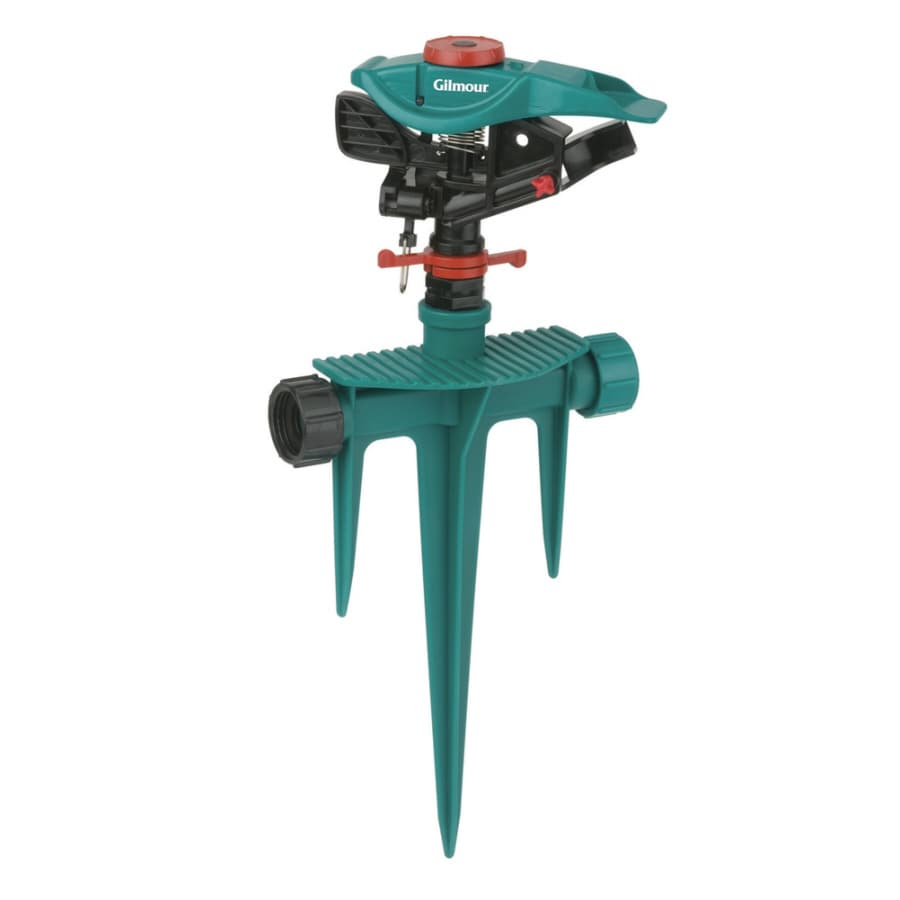 Gilmour 4,000-sq ft Impulse Spike Lawn Sprinkler