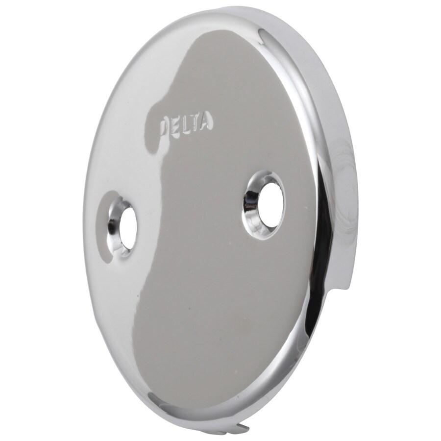 Delta Chrome Metal Face Plate