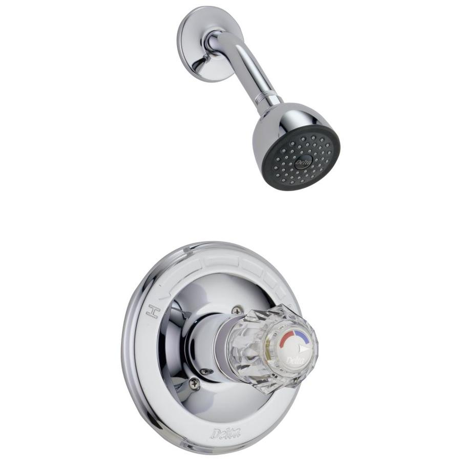Shop Delta Chrome 1 Handle Watersense Bathtub And Shower