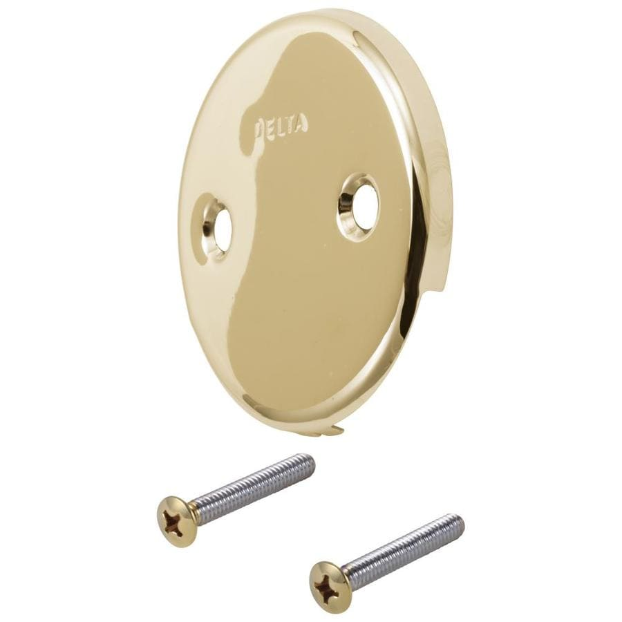 Delta Polished Brass Metal Face Plate