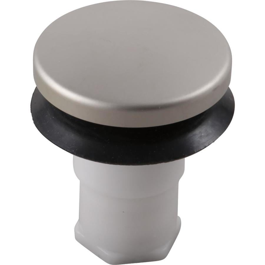 Delta Brushed Nickel Bathroom Stopper At Lowes Com