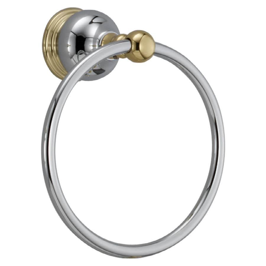 Delta Traditional Chromepolished Brass Towel Ring At Lowescom