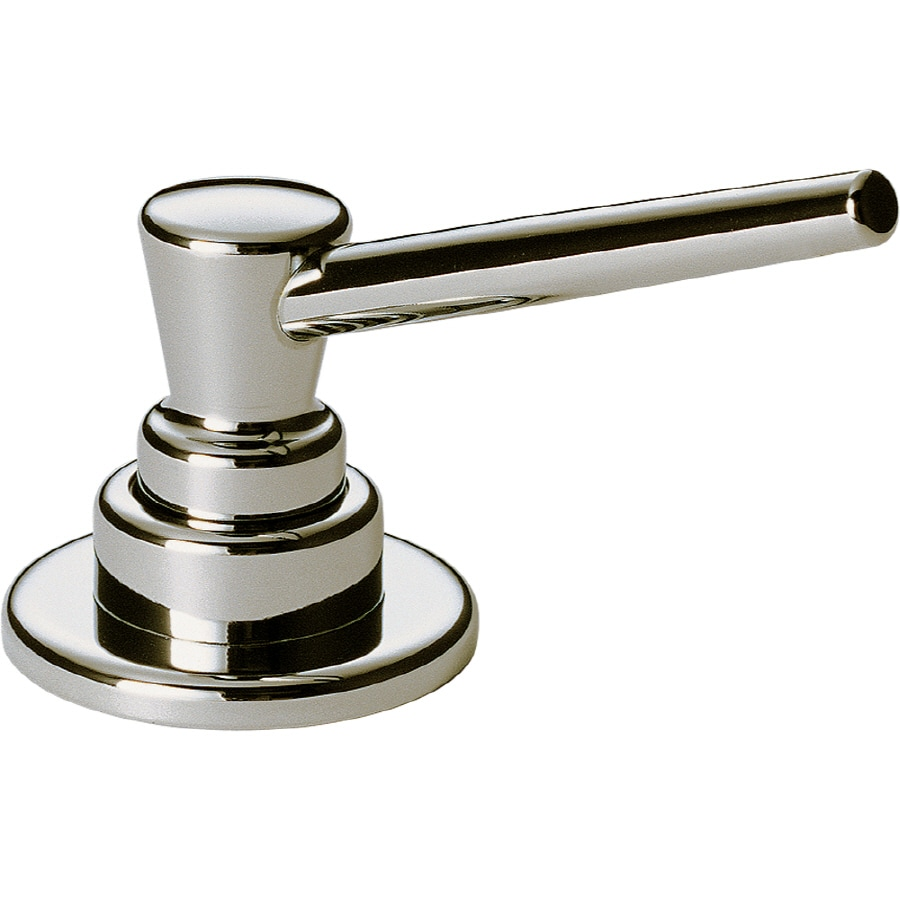 Delta Polished Nickel Soap and Lotion Dispenser