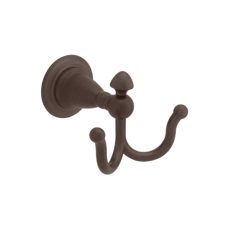Delta Victorian 2-Hook Venetian Bronze Robe Hook