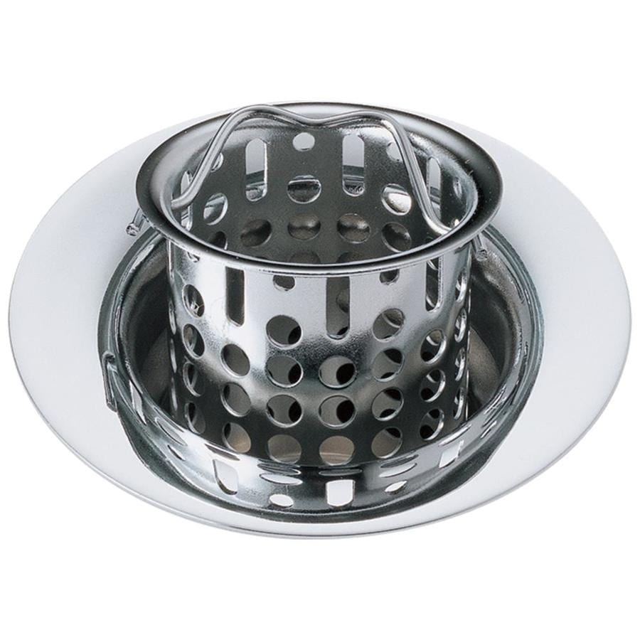 Delta 1.6-in Chrome Stainless Steel Kitchen Sink Strainer Basket