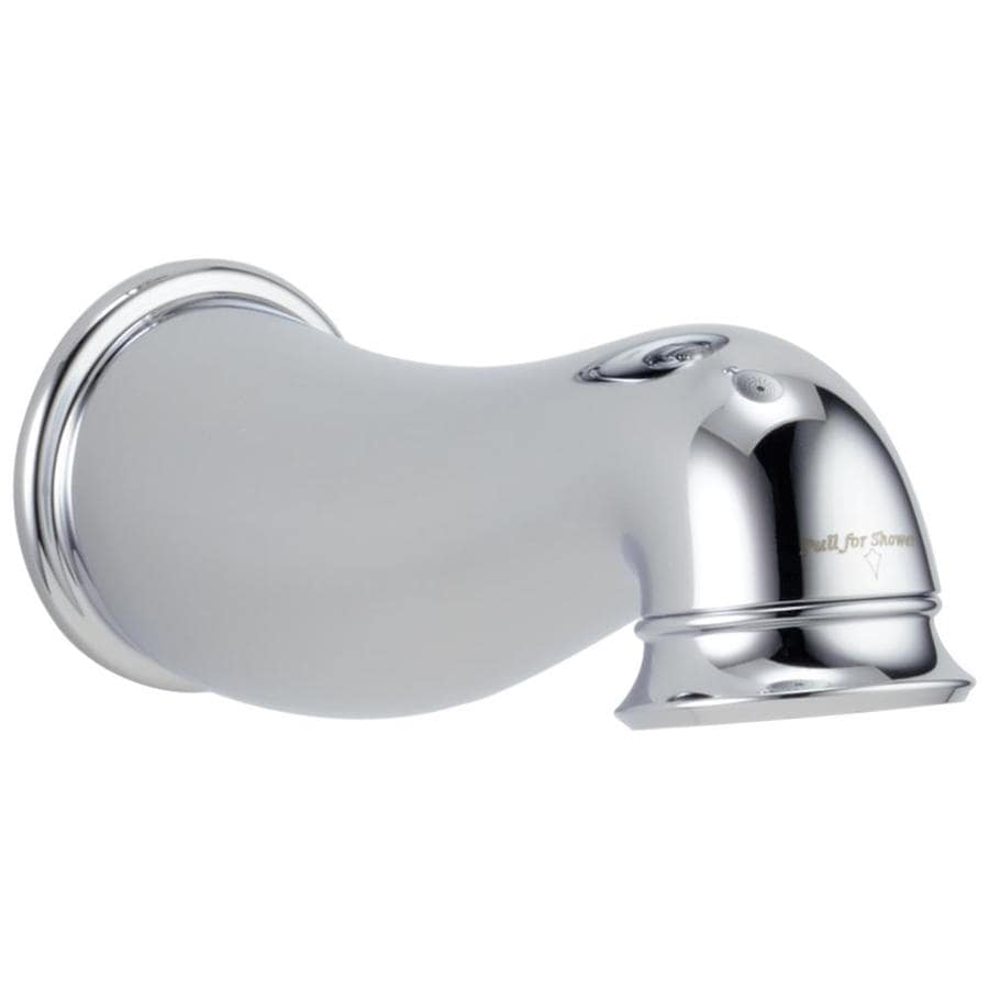 Shop Delta Chrome Tub Spout With Diverter At Lowes Com