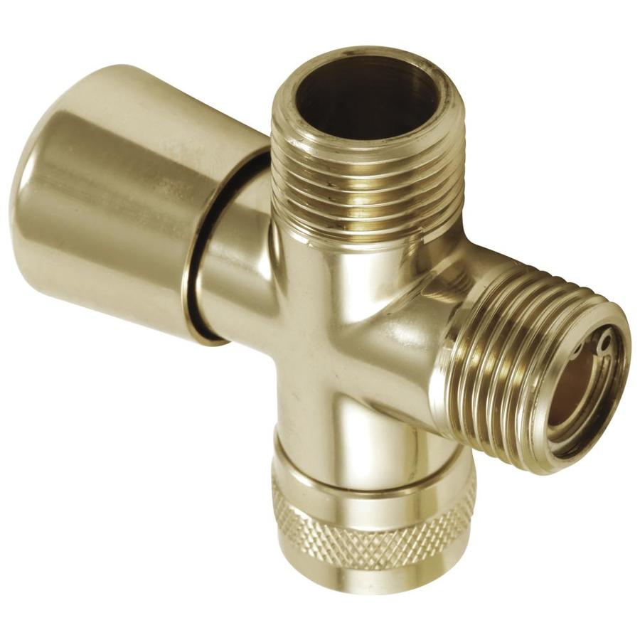 Delta Polished Brass Diverter