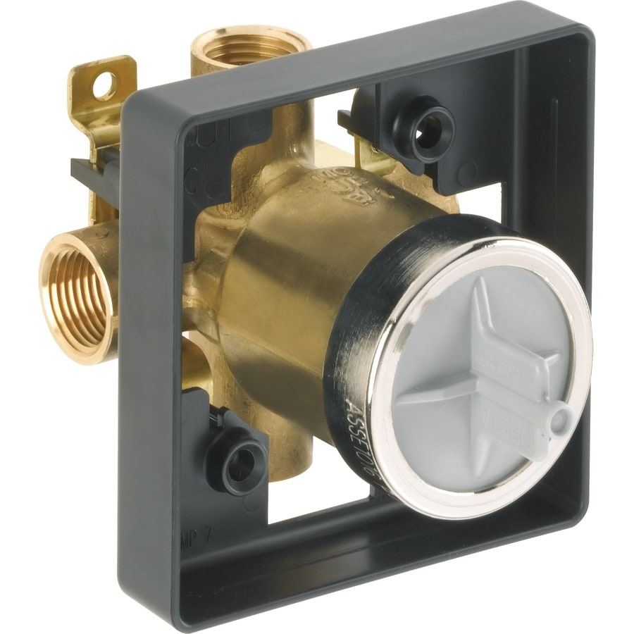 Delta 1/2-in Brass Female In-Line Shower Valve