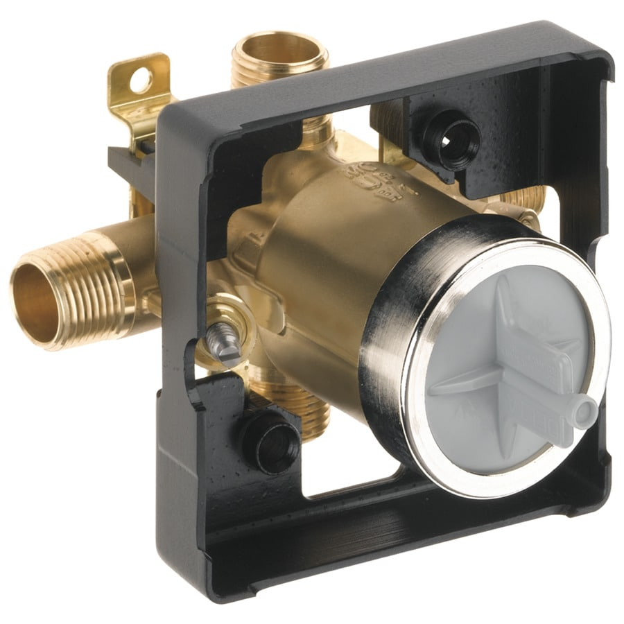 Delta 5.0625-in x 4-in Polished Brass Box Flange
