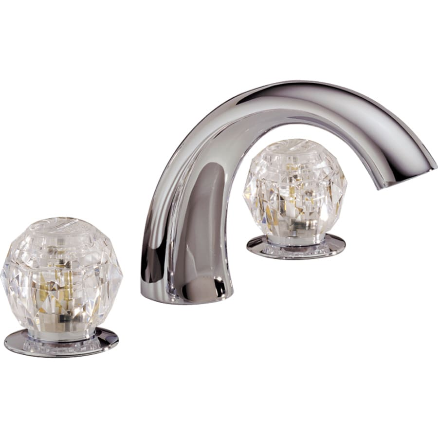 ... Chrome 2-Handle Adjustable Deck Mount Bathtub Faucet at Lowes.com