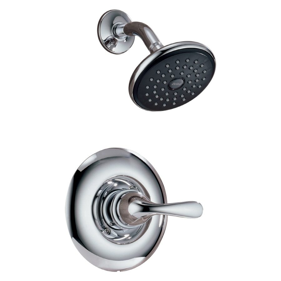 Delta Classic Chrome 1-Handle WaterSense Shower Faucet with Single Function Showerhead