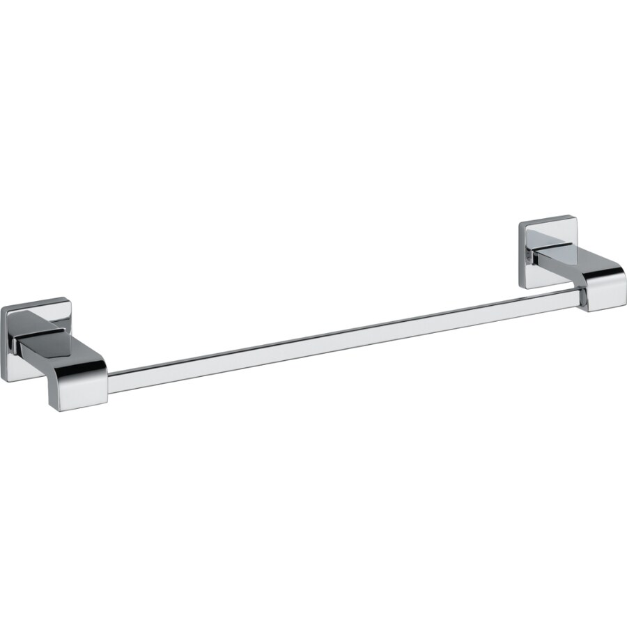 Delta Ara Chrome Single Towel Bar (Common: 18-in; Actual: 20.125-in)