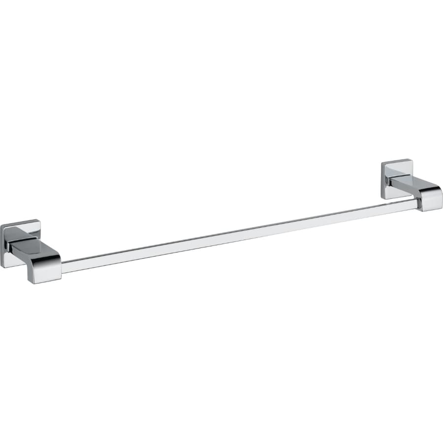 Delta Ara Chrome Single Towel Bar (Common: 24-in; Actual: 26.125-in)