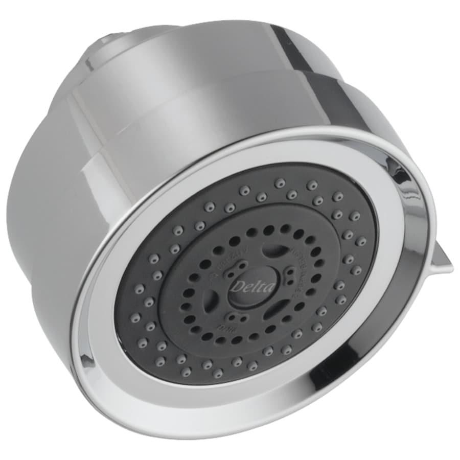 Delta Grail 4-in 2.5-GPM (9.5-LPM) Chrome 3-Spray Showerhead