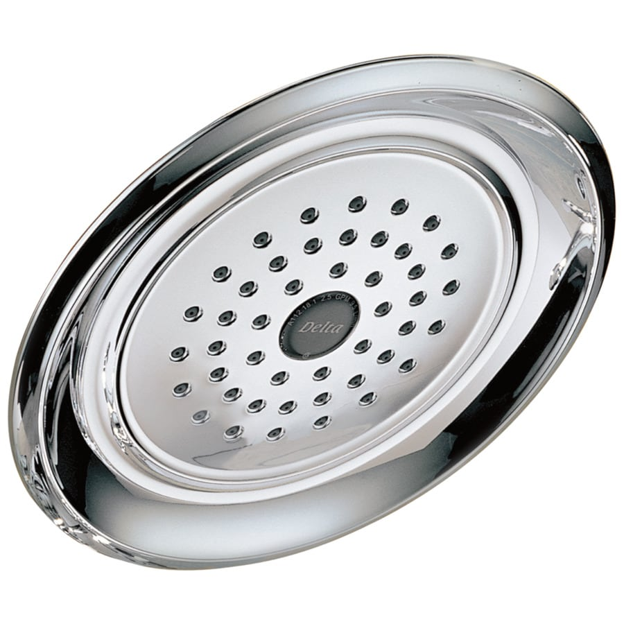 Delta Innovations 7.5-in 2.5-GPM (9.5-LPM) Chrome 1-Spray Showerhead
