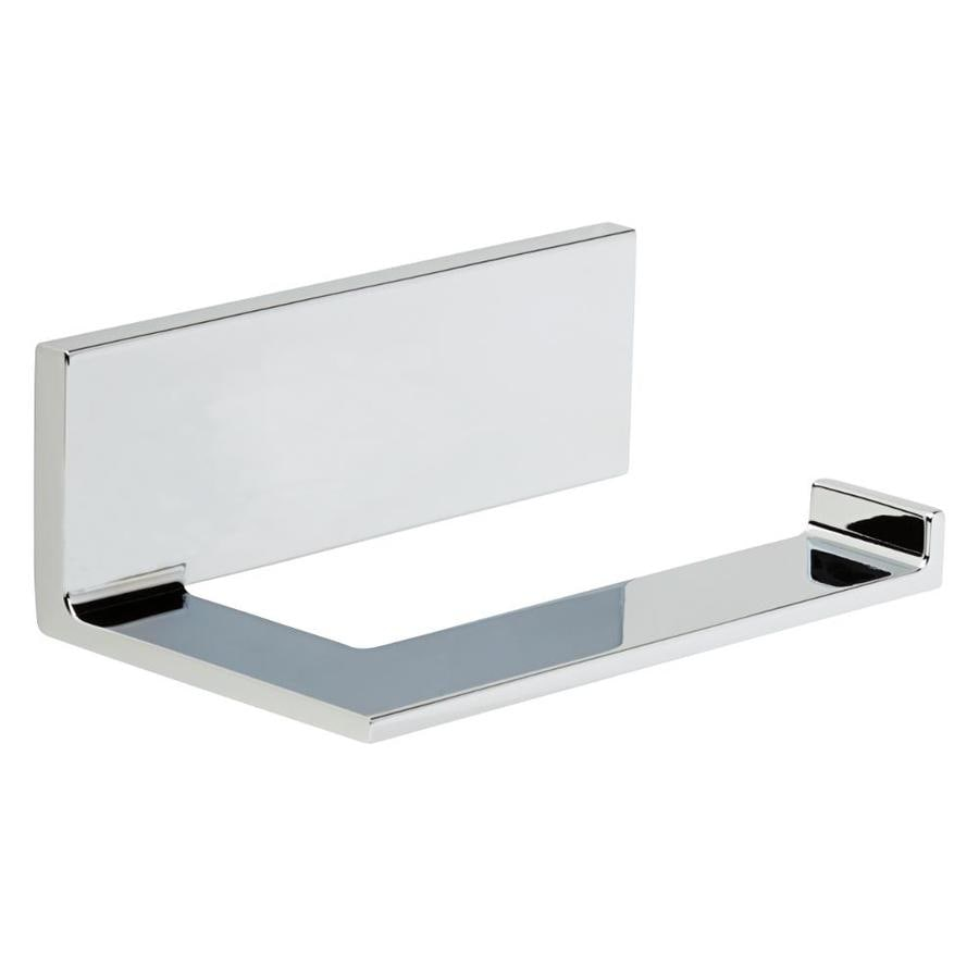 Delta Vero Polished Chrome Surface Mount Single Post Toilet Paper Holder