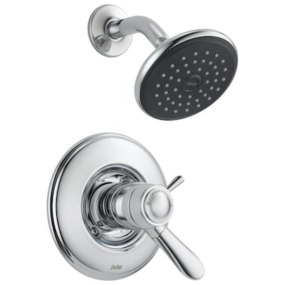 Lahara Thermostatic Chrome 1 Handle Shower Faucet