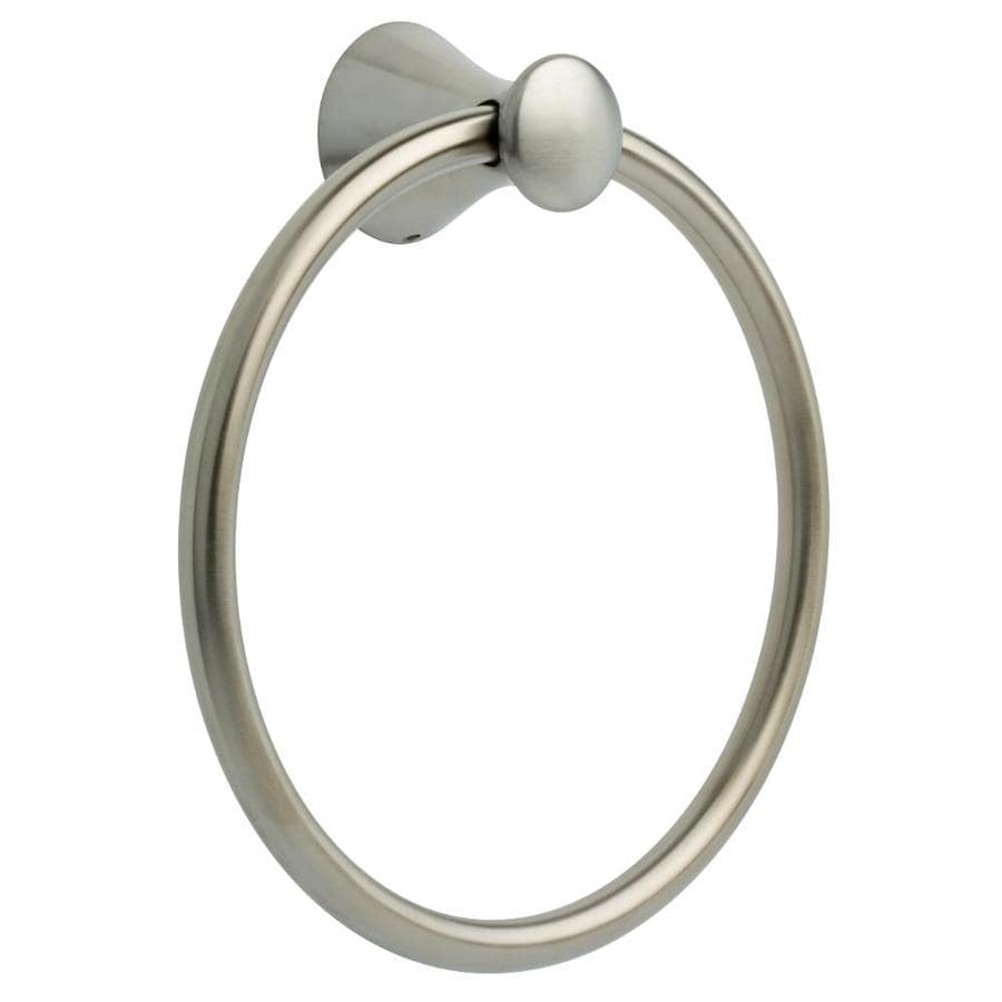 Delta Lahara Brilliance Stainless Steel Wall Mount Towel Ring