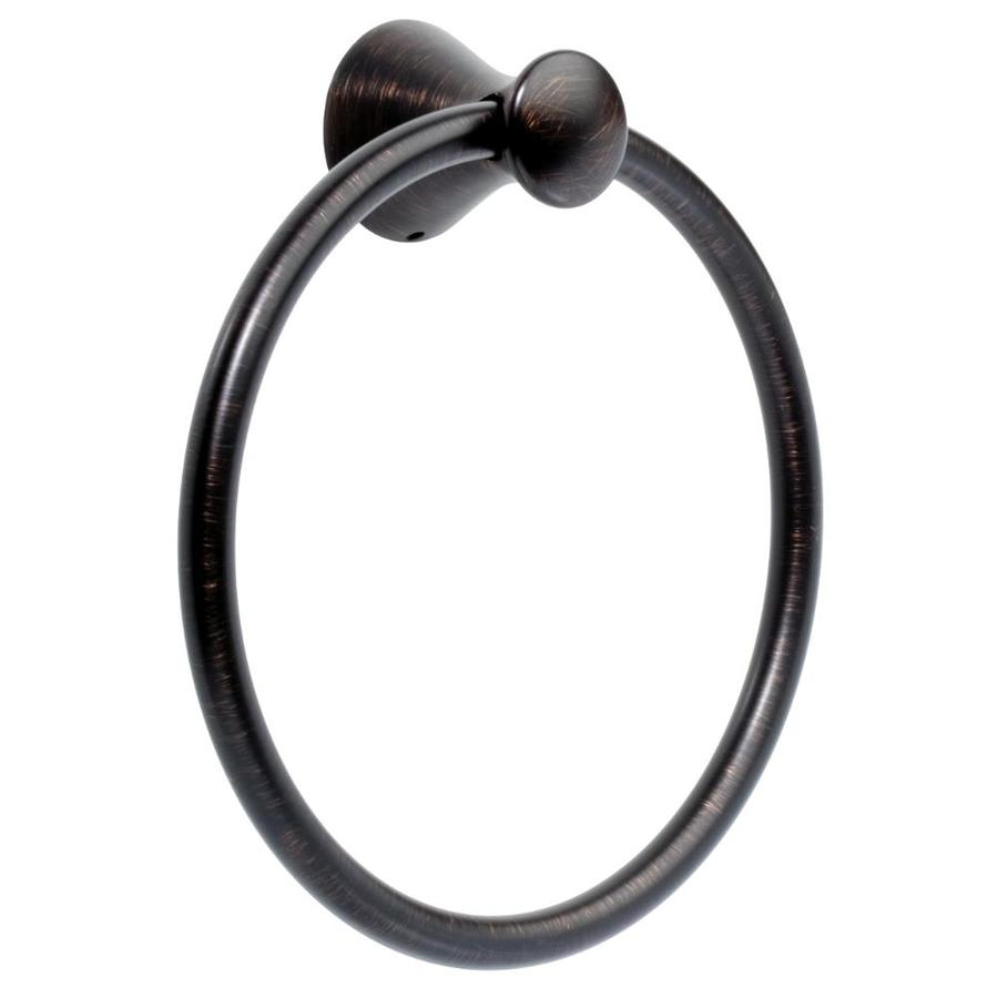 Delta Lahara Venetian Bronze Wall-Mount Towel Ring