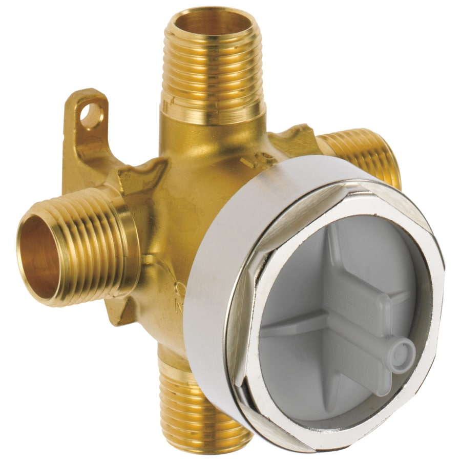 Delta 1/2-in Brass Male In-Line Rough-in Valve