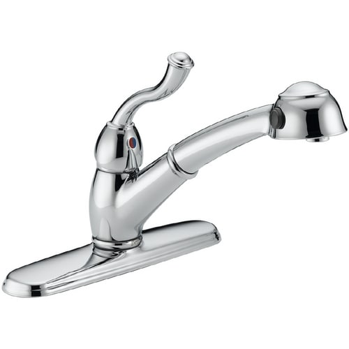 Delta saxony single-handle faucet