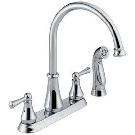 Delta Lewiston Chrome Kitchen Faucet