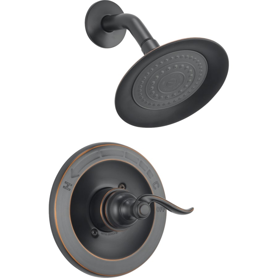Shop Delta Windemere Oil Rubbed Bronze 1 Handle Shower Faucet With Valve At