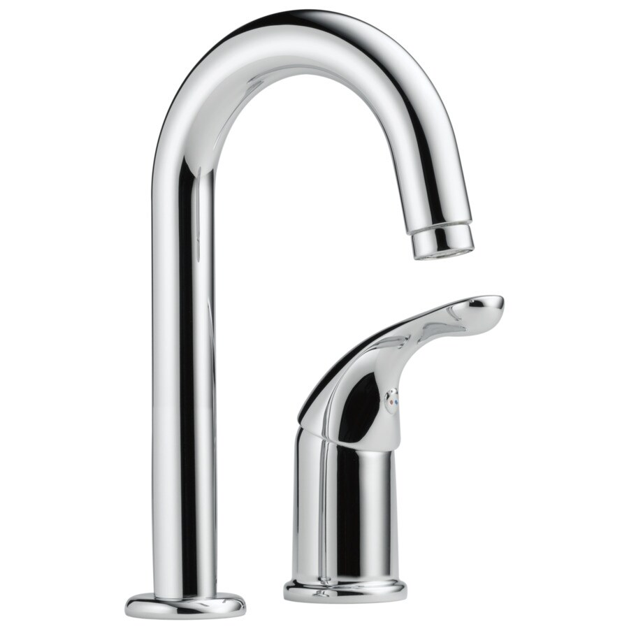 Delta Classic Chrome 1-Handle Bar and Prep Faucet