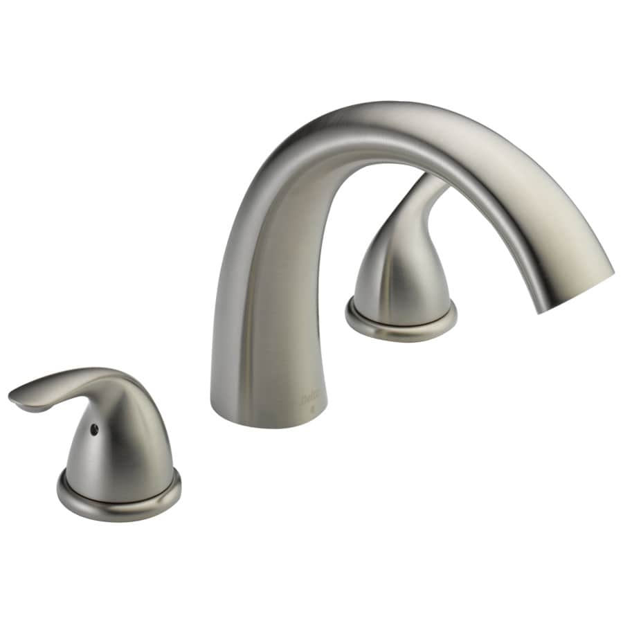 handle handle s included fixed deck mount bathtub faucet at