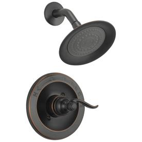 Delta Windemere Oil Rubbed Bronze 1 Handle Shower Faucet With Valve