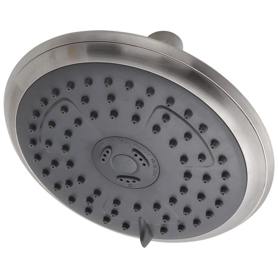 Delta Porter Brushed Nickel 3-Spray Shower Head