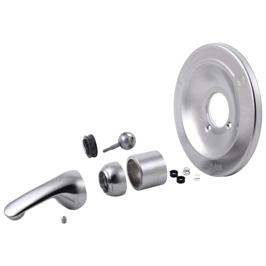 Delta Steel-Stainless Tub/Shower Trim Kit