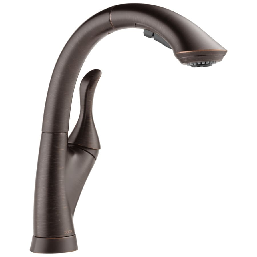Delta Linden Venetian Bronze 1-Handle Pull-Out Kitchen Faucet