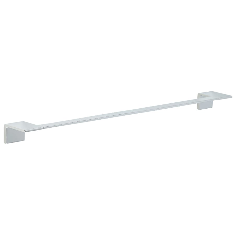 Delta Vero Chrome Single Towel Bar (Common: 24-in; Actual: 26.031-in)