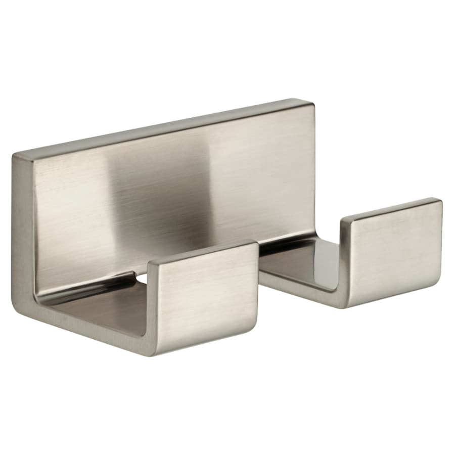 Delta Vero 2-Hook Stainless Robe Hook