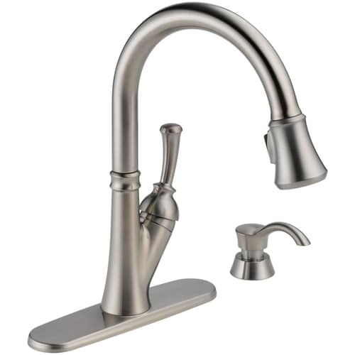 Kitchen: Cool Pull Down Kitchen Faucet To Inspired Your ...
