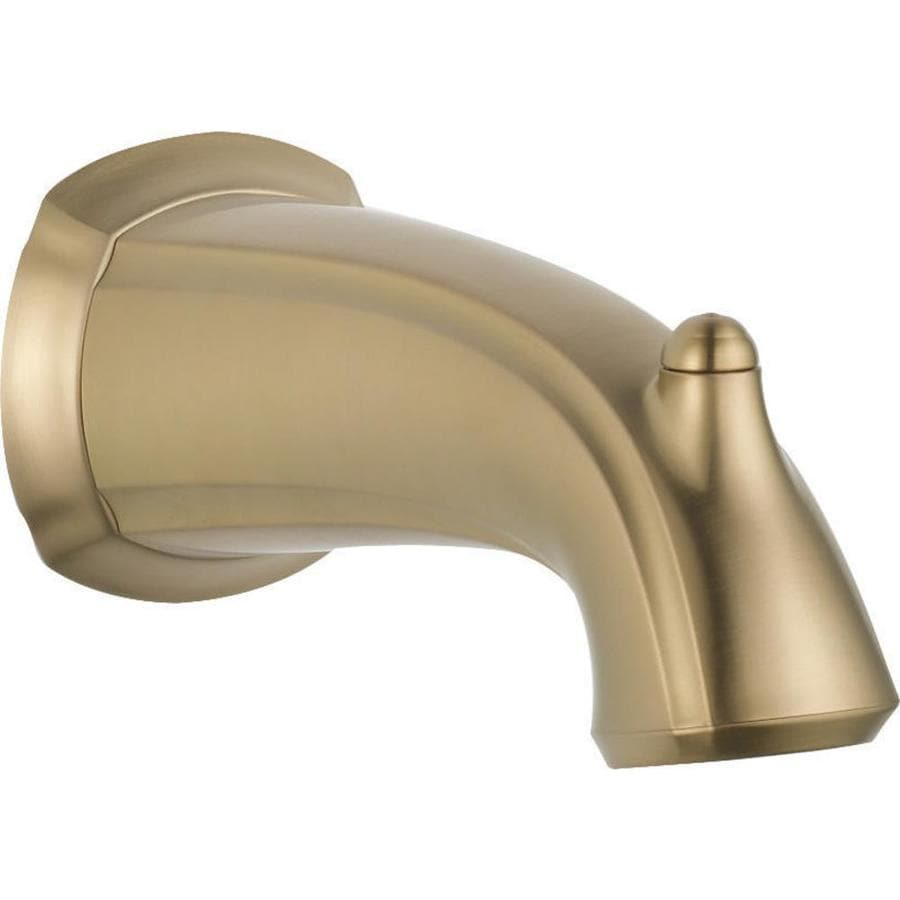 Delta Bronze Tub Spout At Lowes Com