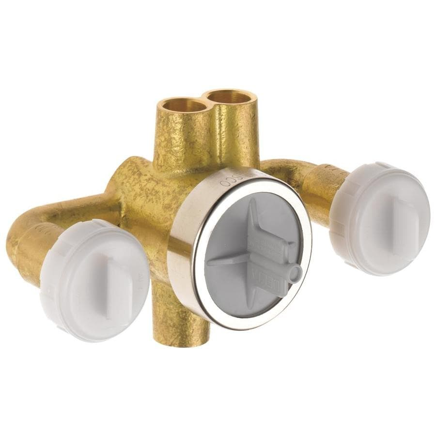 Delta 1/2-in Brass Sweat In-Line Rough-in Valve