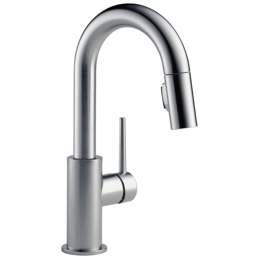 Delta Trinsic Arctic Stainless 1-Handle Bar and Prep Faucet