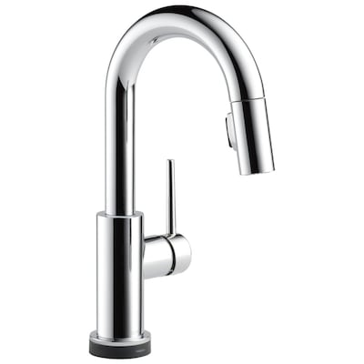 Trinsic Touch Chrome 1-handle Deck Mount Pull-down Touch Kitchen Faucet