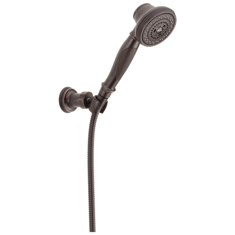 Delta 3-in 2.5-GPM (9.5-LPM) Venetian Bronze 3-Spray Hand Shower