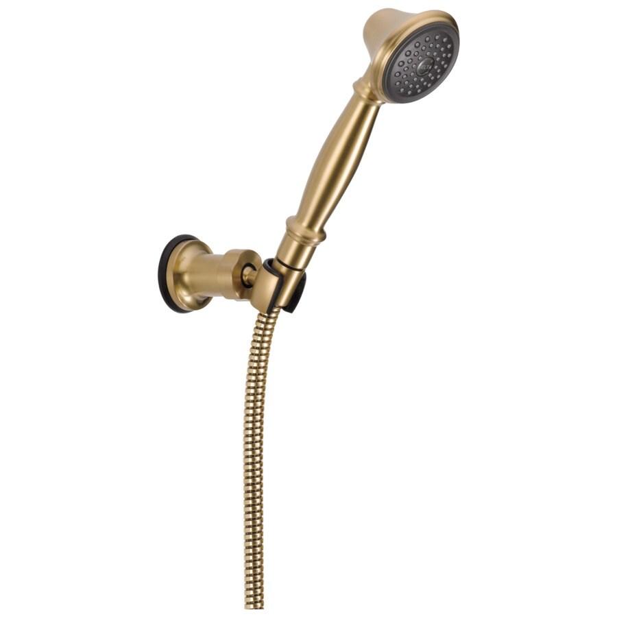 Delta Champagne Bronze 1-Spray Shower Head