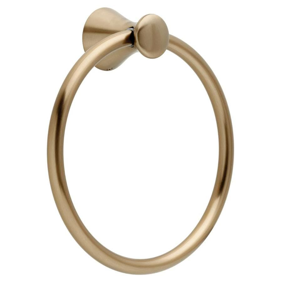 Delta Lahara Champagne Bronze Wall Mount Towel Ring