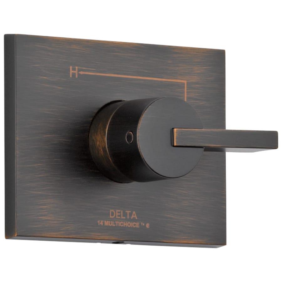 Delta Vero Venetian Bronze 1-Handle Shower Faucet Trim Kit with Sold Separately Showerhead