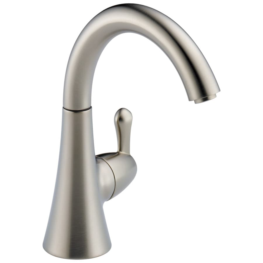 Delta Transitional Butler Stainless 1-Handle High-Arc Kitchen Faucet